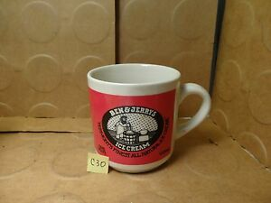 Details about Ben & Jerry\'s Vermont\'s Finest All Natural Ice Cream Coffee  Mug (Used/EUC).