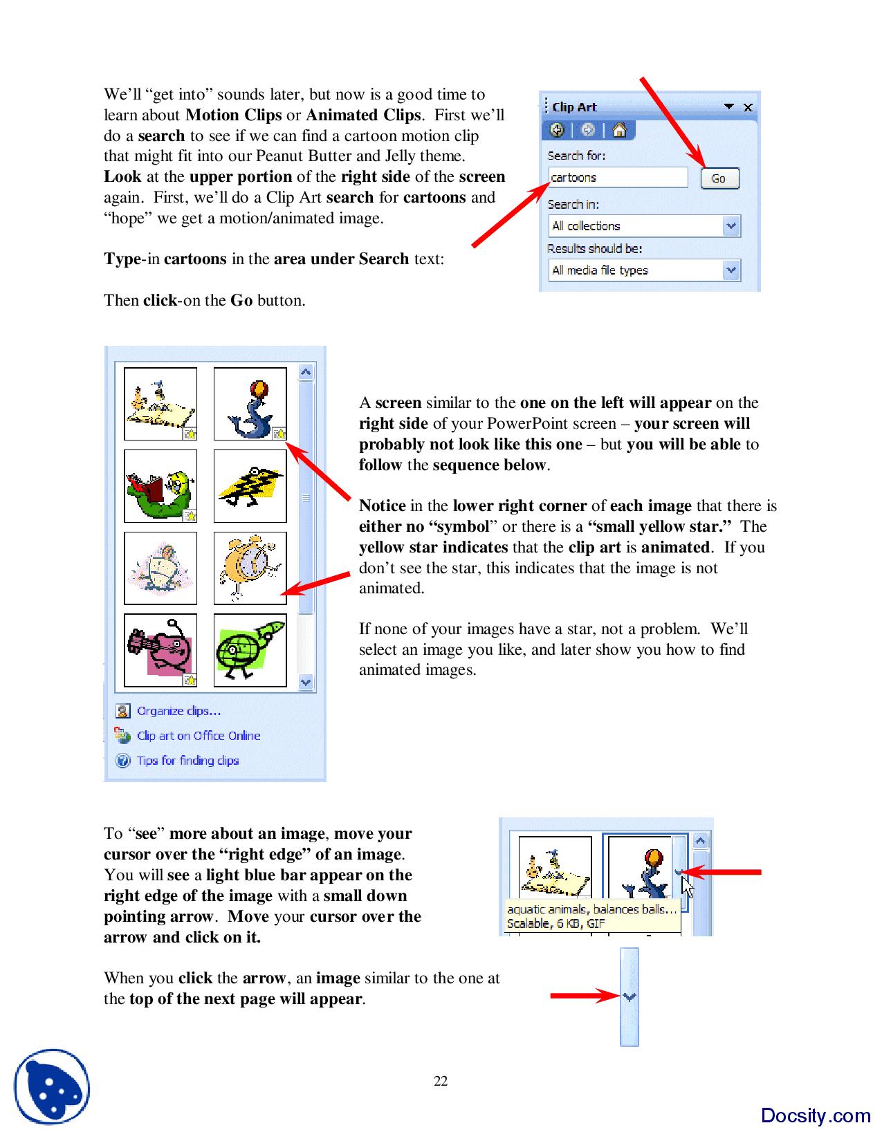Using Clip Art.