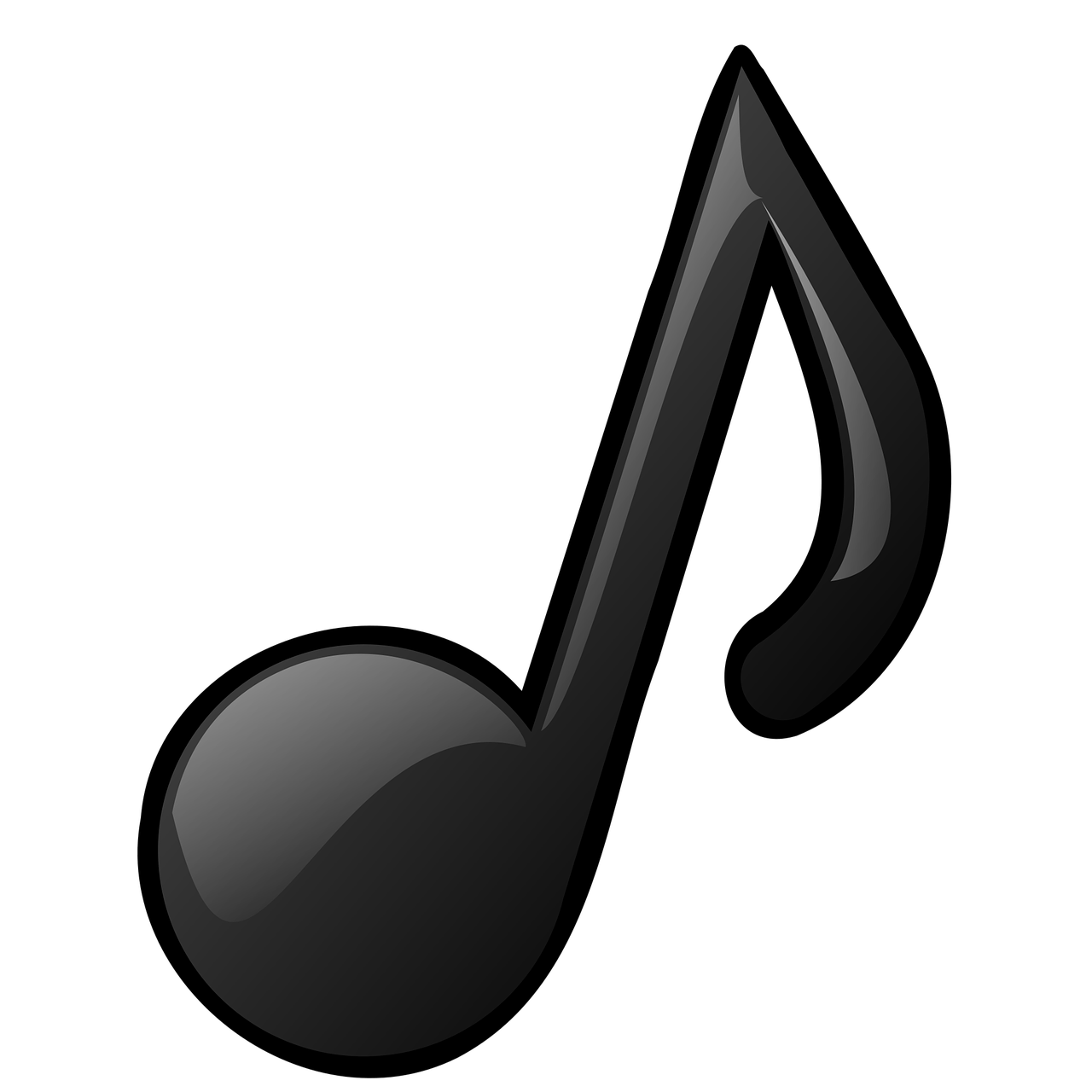 Musical Notes Clipart transparent PNG.
