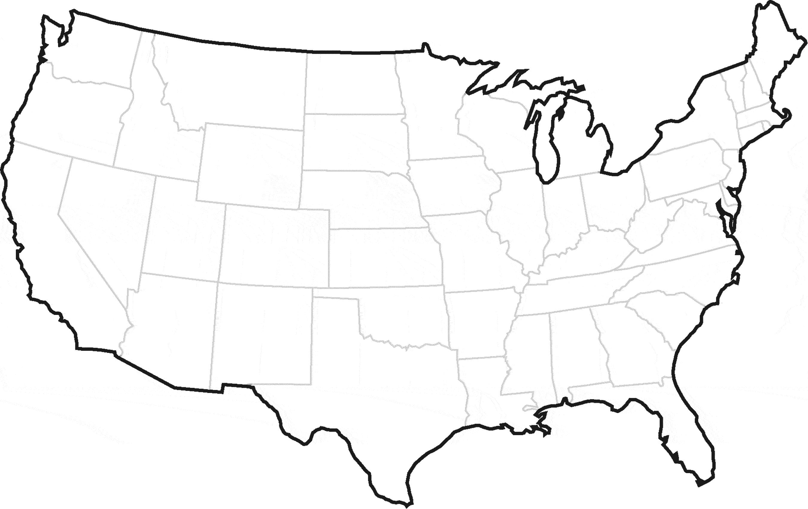 Map Of Usa Clipart usa map vector art free united states.