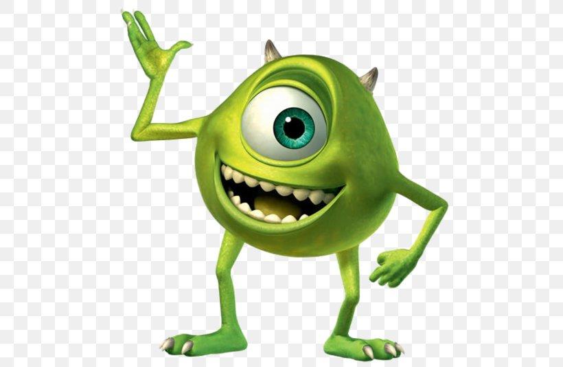 Mike Wazowski James P. Sullivan Monsters, Inc. Pixar.