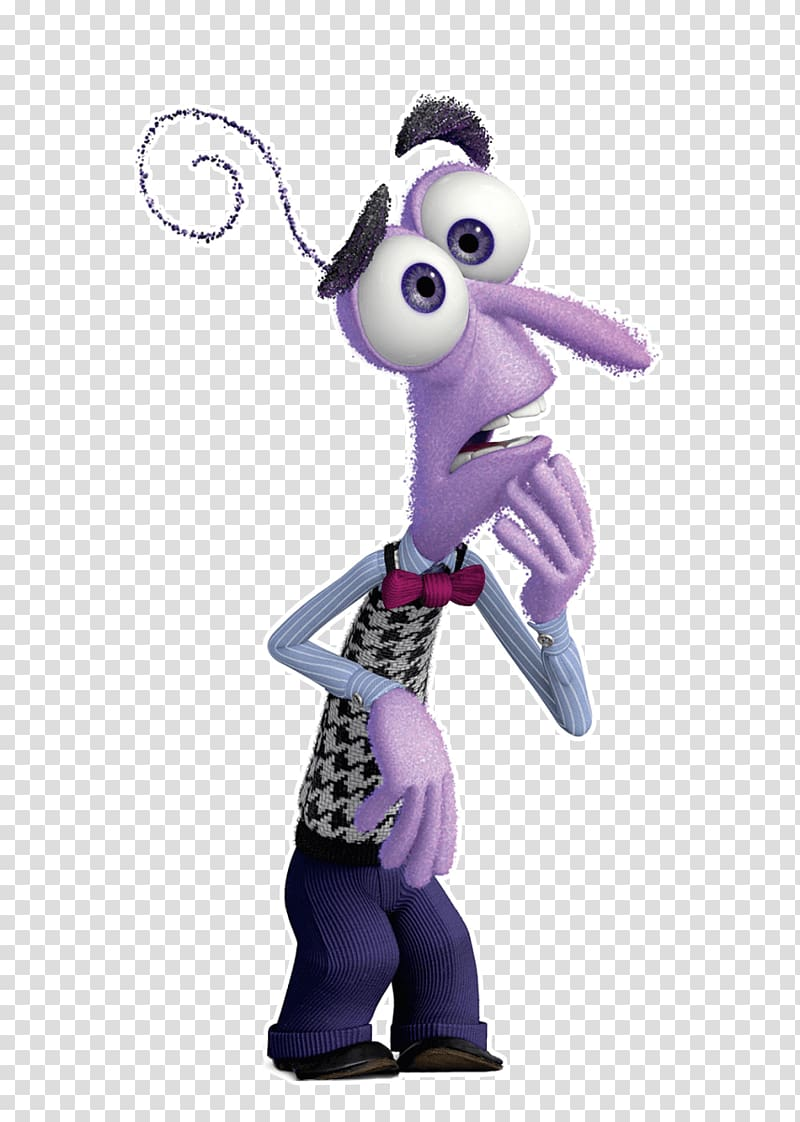 Purple animated character, Riley Character Pixar Animation.