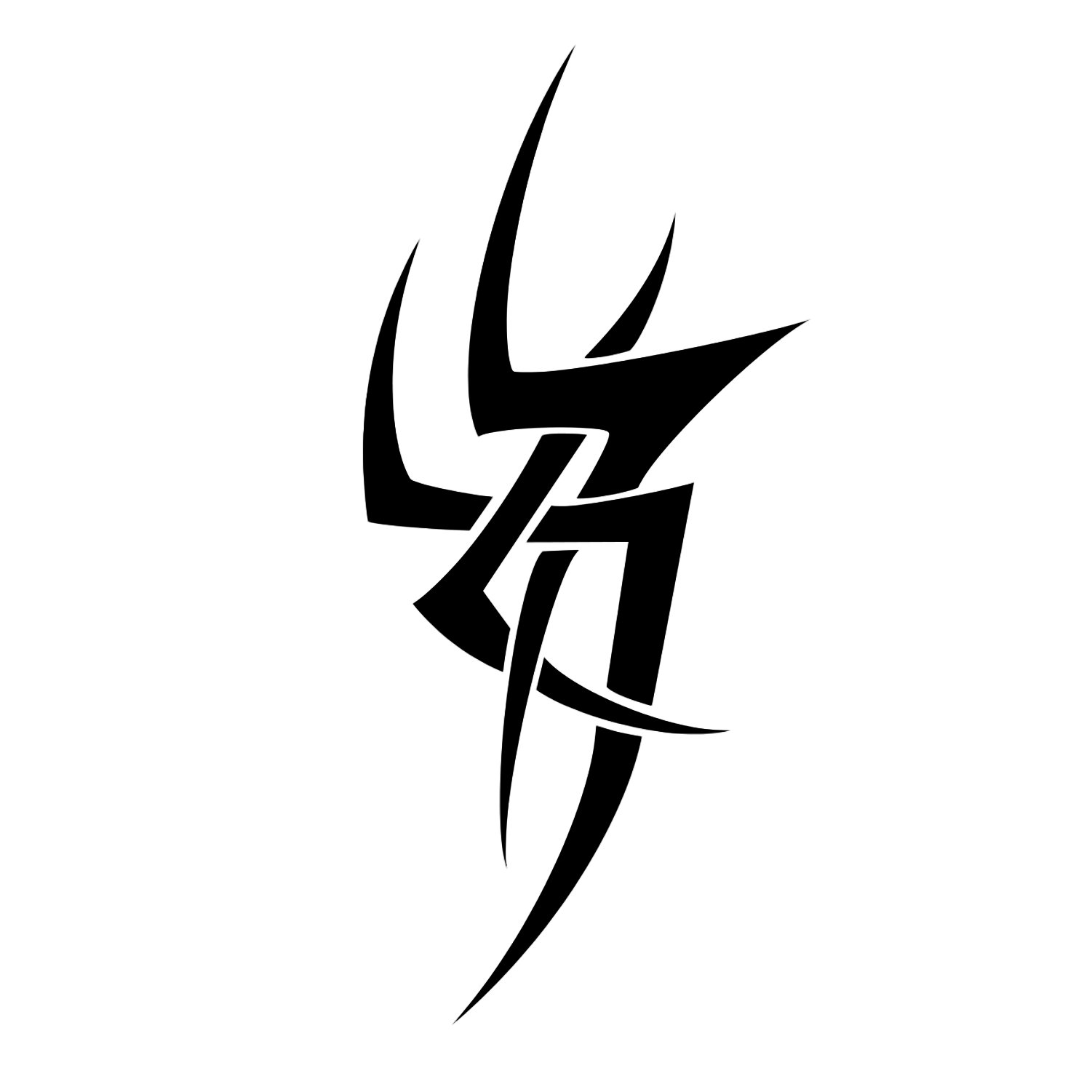Tribal Tattoo Vector 2 (SVG, PNG).