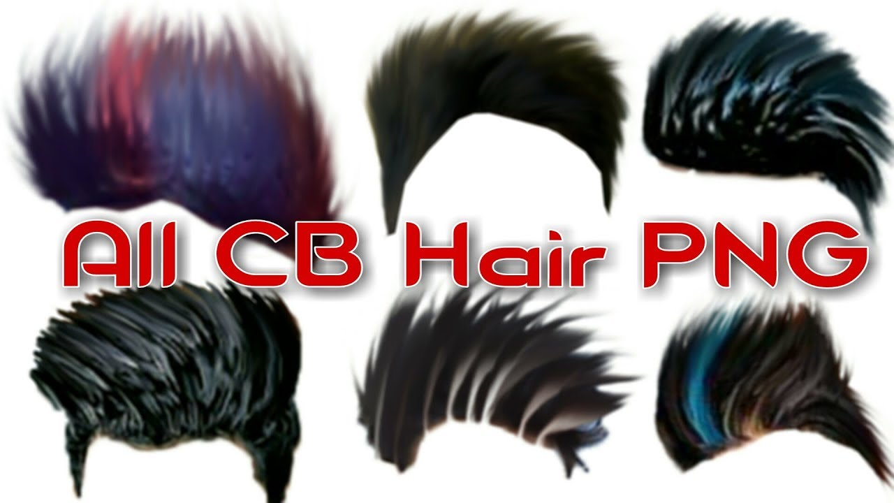 Cb Hair PNG all HD stylish CB hair PNG zip file download in one click.