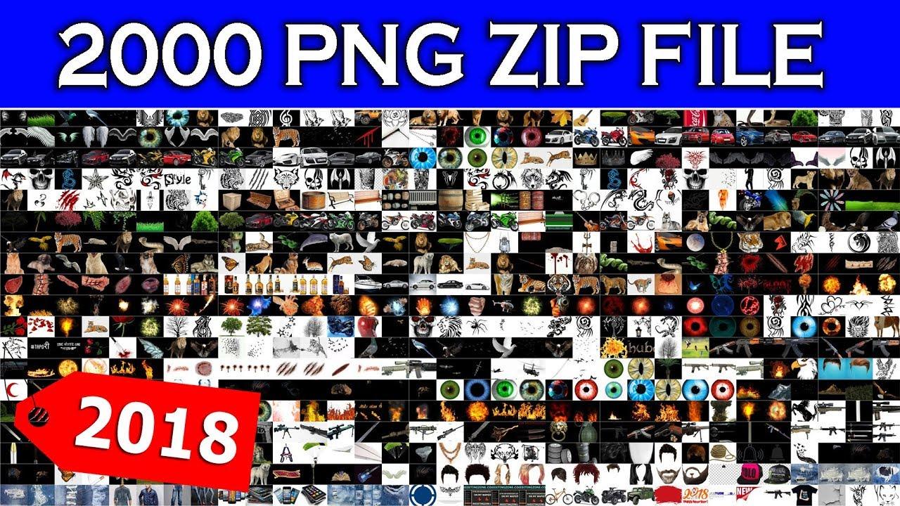2000 Png Zip File Download, All Editing Stocks Download, PNG Zip files.