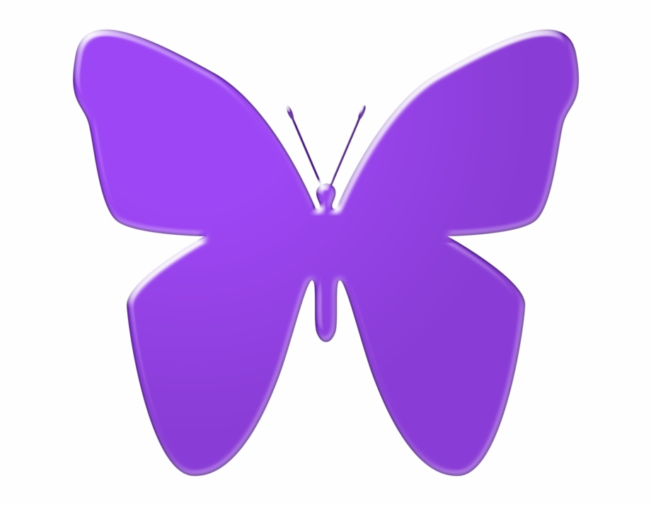 Purple Butterfly Clipart Butterfly Clipart In Png.