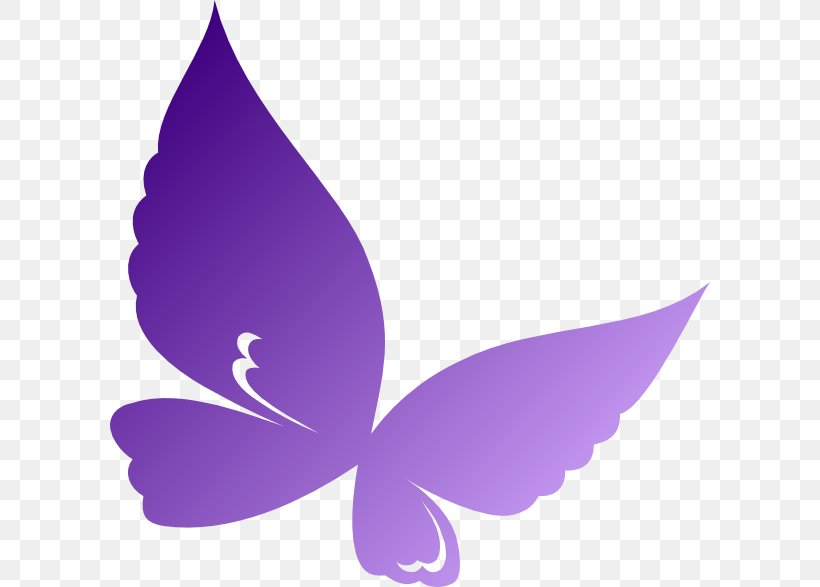Butterfly Violet Clip Art, PNG, 600x587px, Butterfly, Brush.
