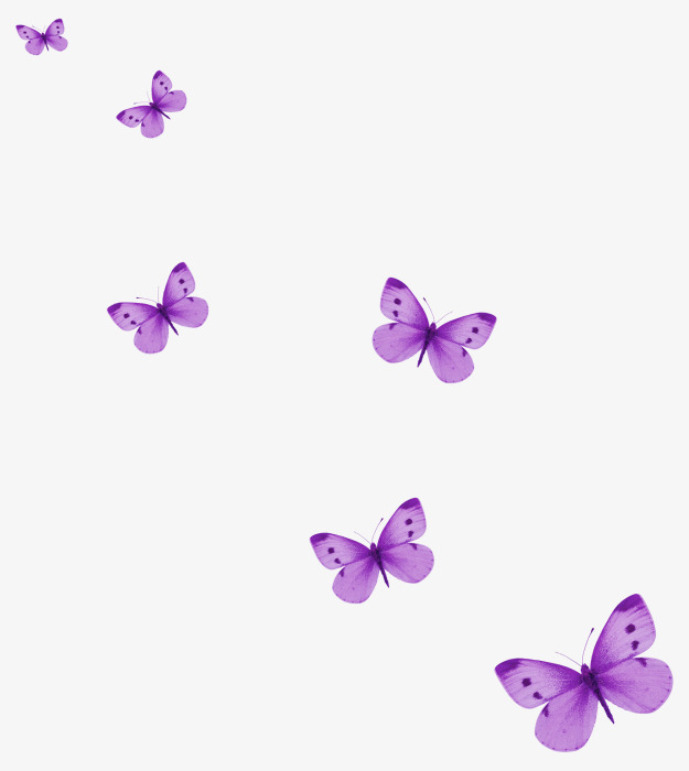 Floating Purple Butterfly Flying, Butter #158895.