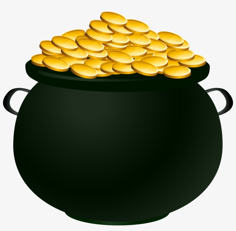 Pot Of Gold Png Vector Free Download.