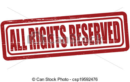 All Rights Reserved Clipart.