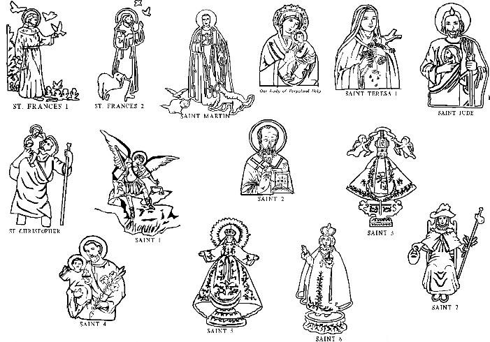 All Saints Sunday Clipart.