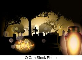 Cemetery candle, all saints\' day lantern.