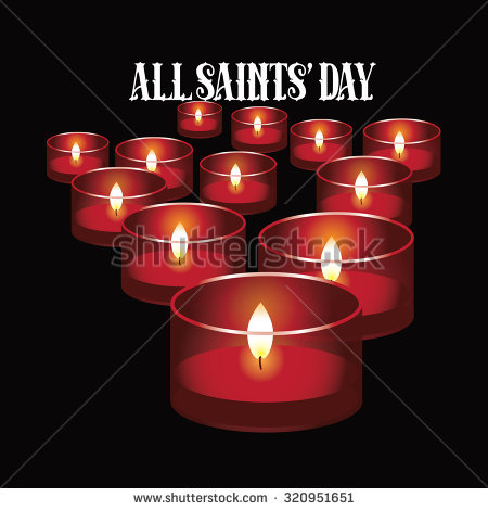 All Saints Day Stock Images, Royalty.