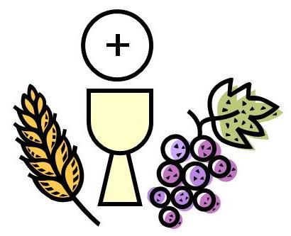 Eucharistic symbols clipart.