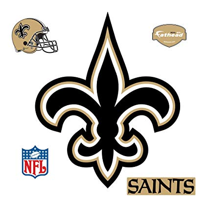 Fathead NFL New Orleans Saints New Orleans Saints: Logo.
