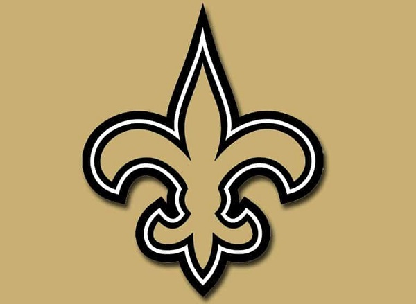 Saints logo finds its way into tweet from Pope Francis.