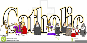 All Saints Day Clipart.
