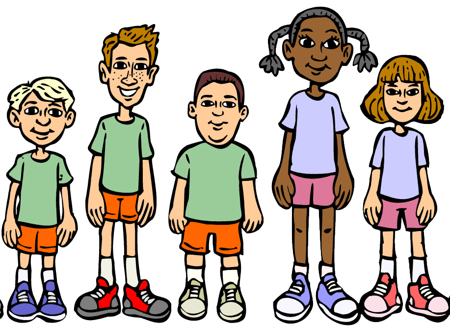 Elementary School Sports Clipart.