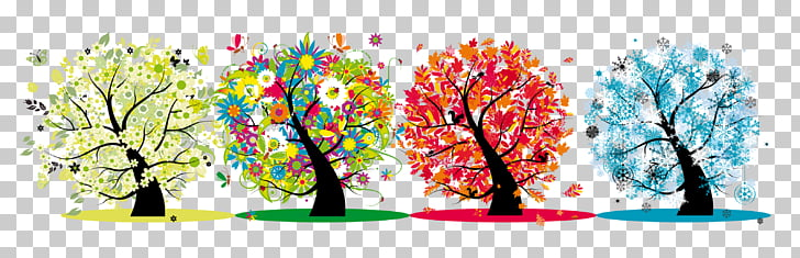 Season , Four Seasons Transparent s PNG clipart.