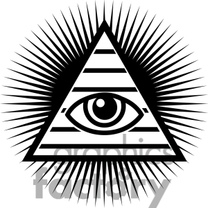 All seeing eye clipart.