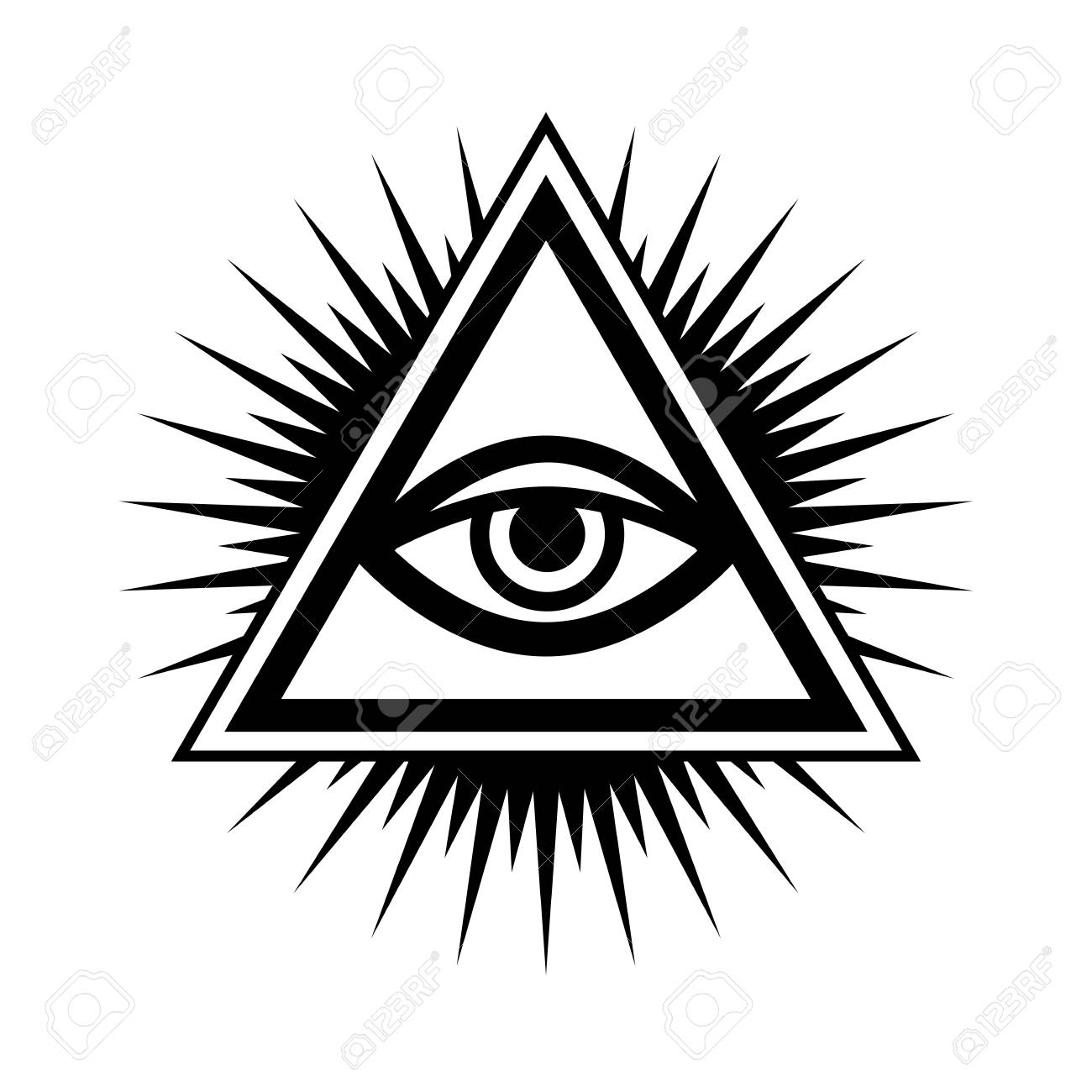 All seeing eye clipart 4 » Clipart Station.