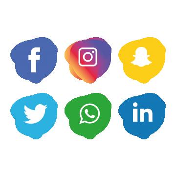 1186 Social Media free clipart.