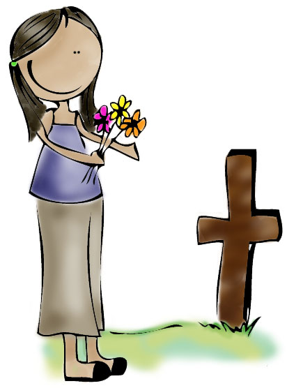 All souls day clip art.