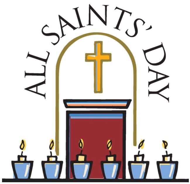18 Beautiful All Saints Day Clipart Wish Pictures And Photos.