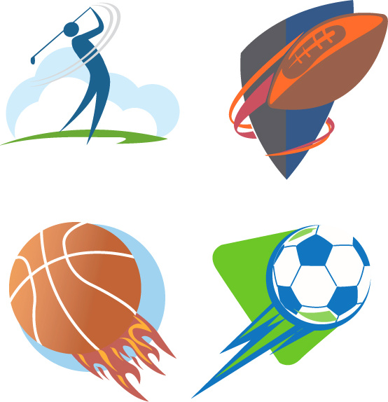 Sport logo vector Free vector in Adobe Illustrator ai ( .ai.