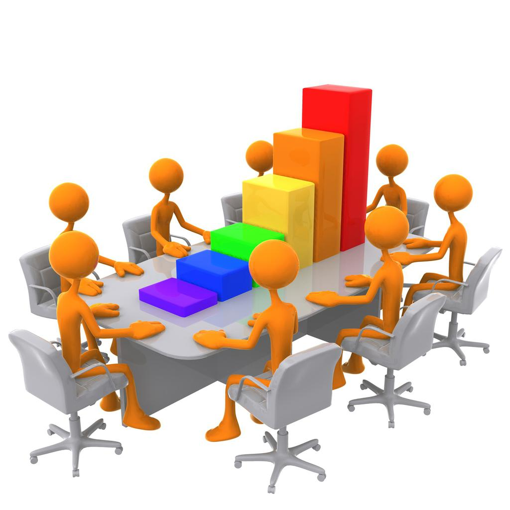 Free Meeting Clipart Office Staff.