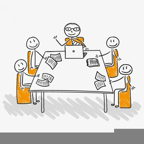 Funny Staff Meeting Clipart Free Images At Clker Com Vector Clip.