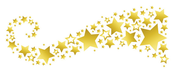 Star Banner Clipart.