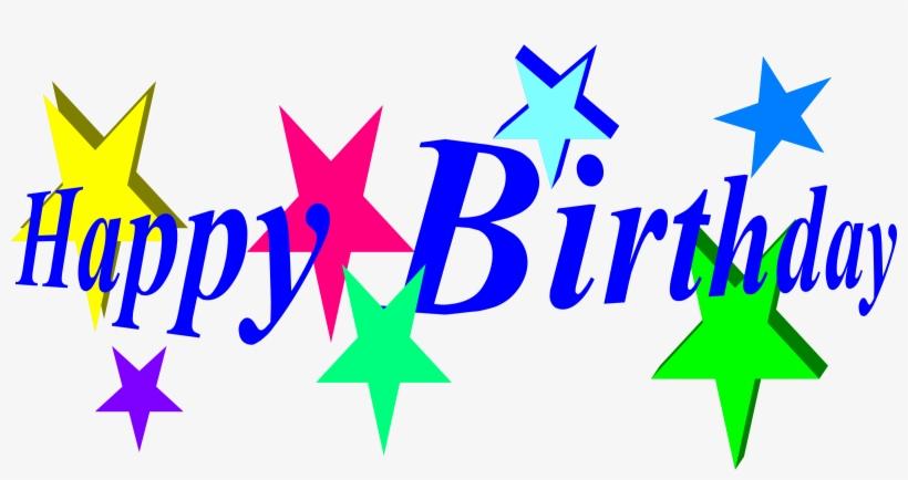 Stars Clipart Happy Birthday.