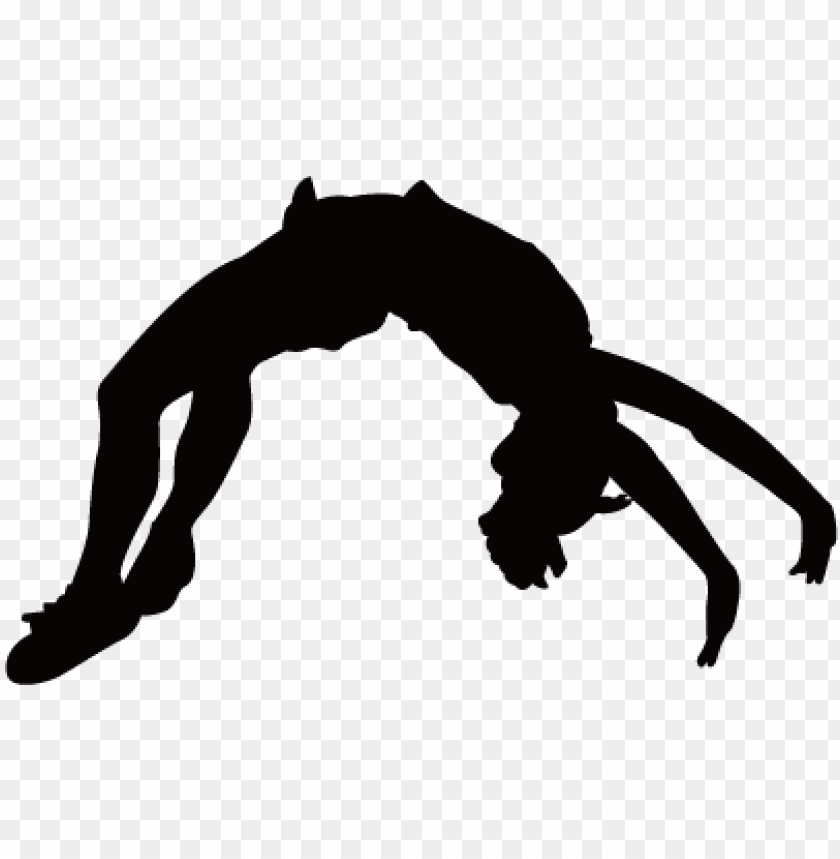 cheerleading stunts silhouette at getdrawings.