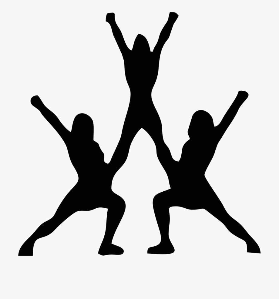 Cheer Silhouette At Getdrawings Com Free For.