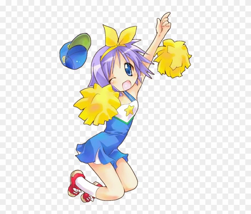 Lucky Star Tsukasa Cheerleader Clipart (#2123645).
