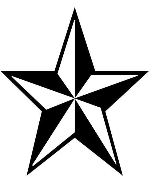 Star Clip Art Free Stock Photo.