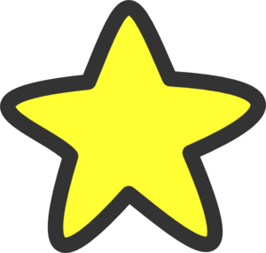 27630 Star free clipart.
