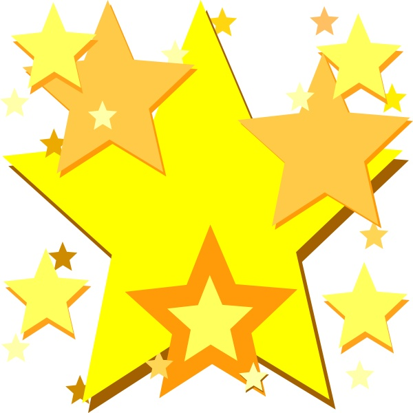 Image Of Gold Star Clipart Free Clip Art Clipartix Alive New 15.