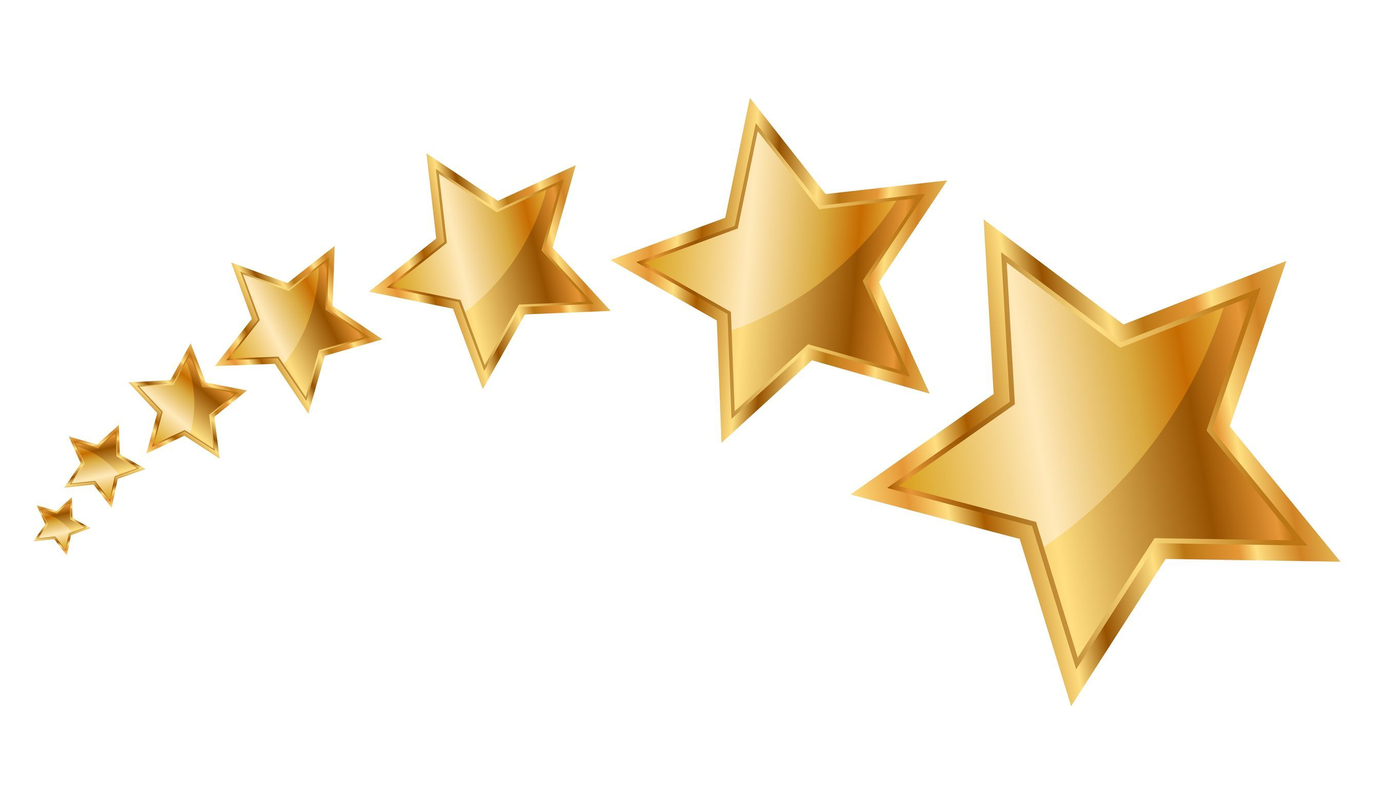 Gold star star clipart and animated graphics of stars image #28234.