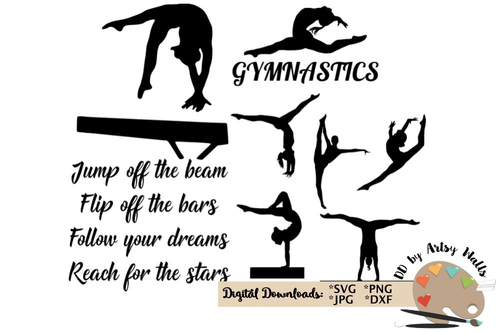 Gymnastics quote.