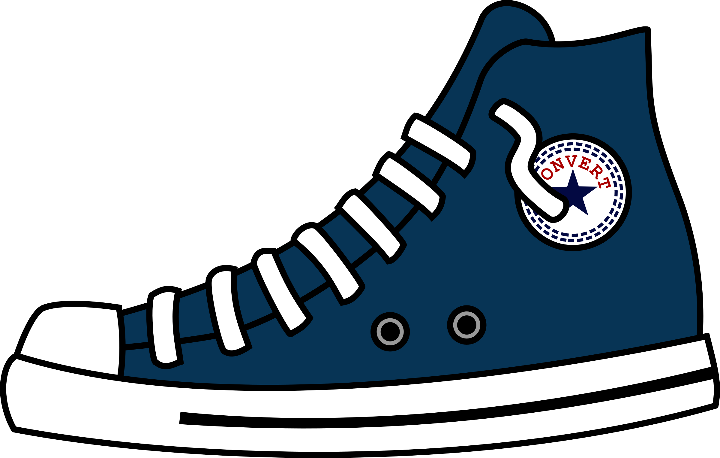 Converse Shoe Clipart at GetDrawings.com.