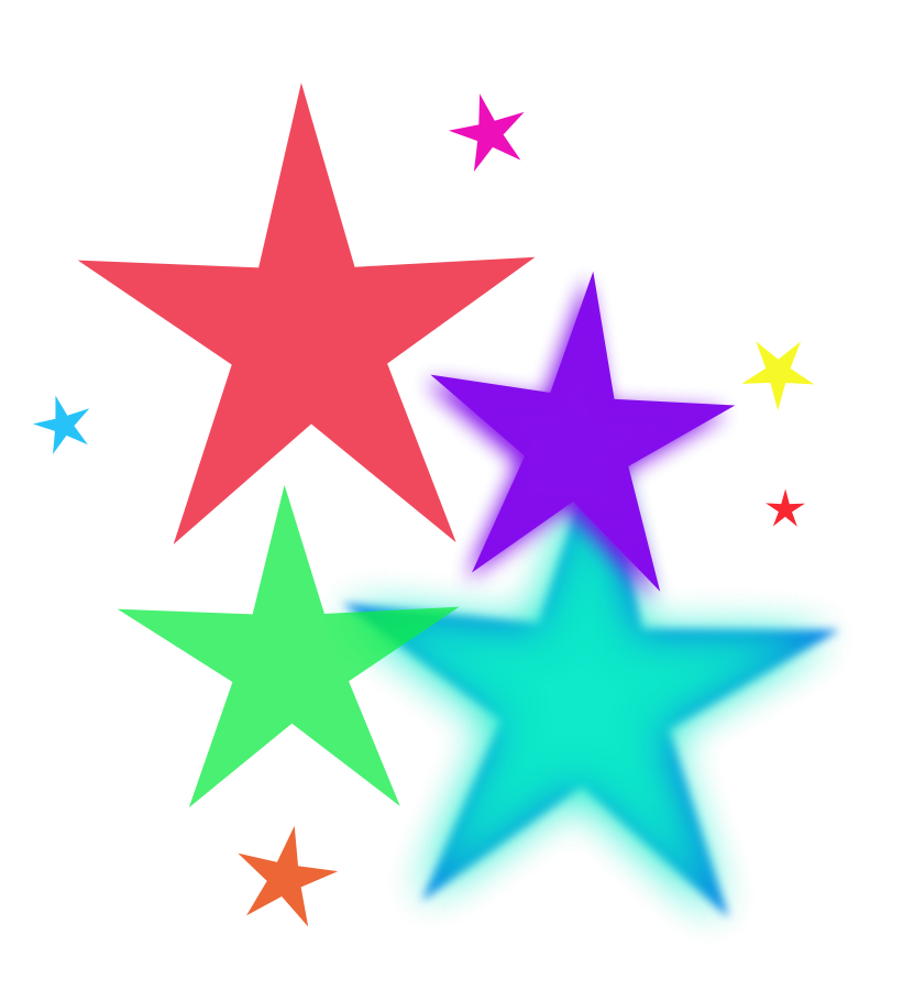 Twinkle Stars Clipart.