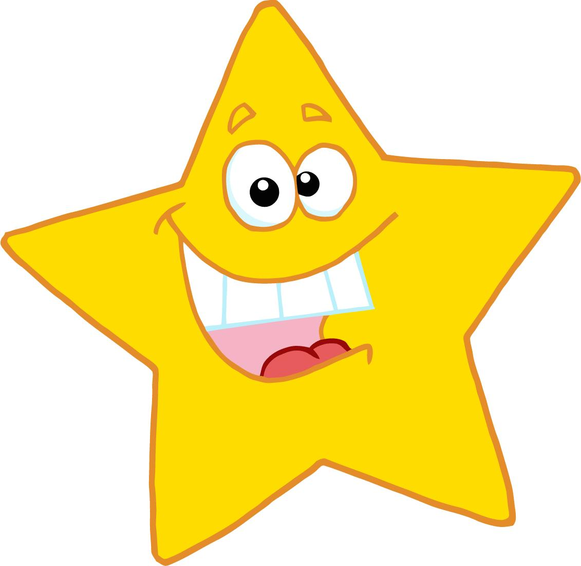 Star clip art images.