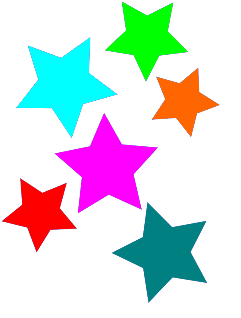 clipart stars free #12