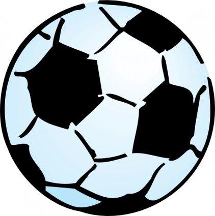 Advoss Soccer Ball clip art.