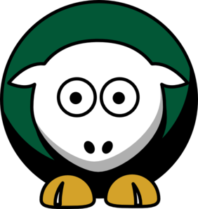 Sheep Dallas Stars Team Colors Clip Art at Clker.com.