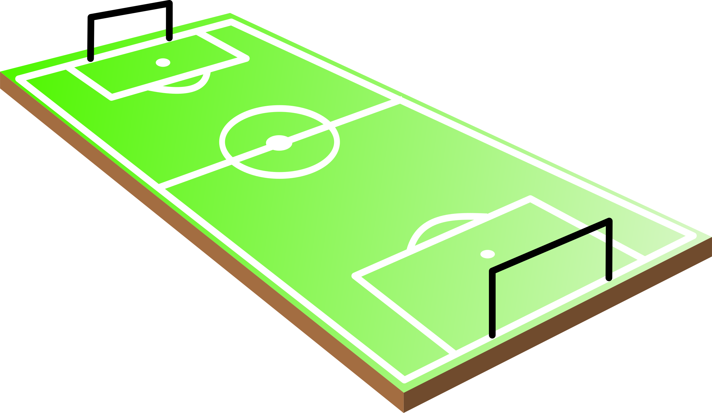 Clipart Terrain De Football.