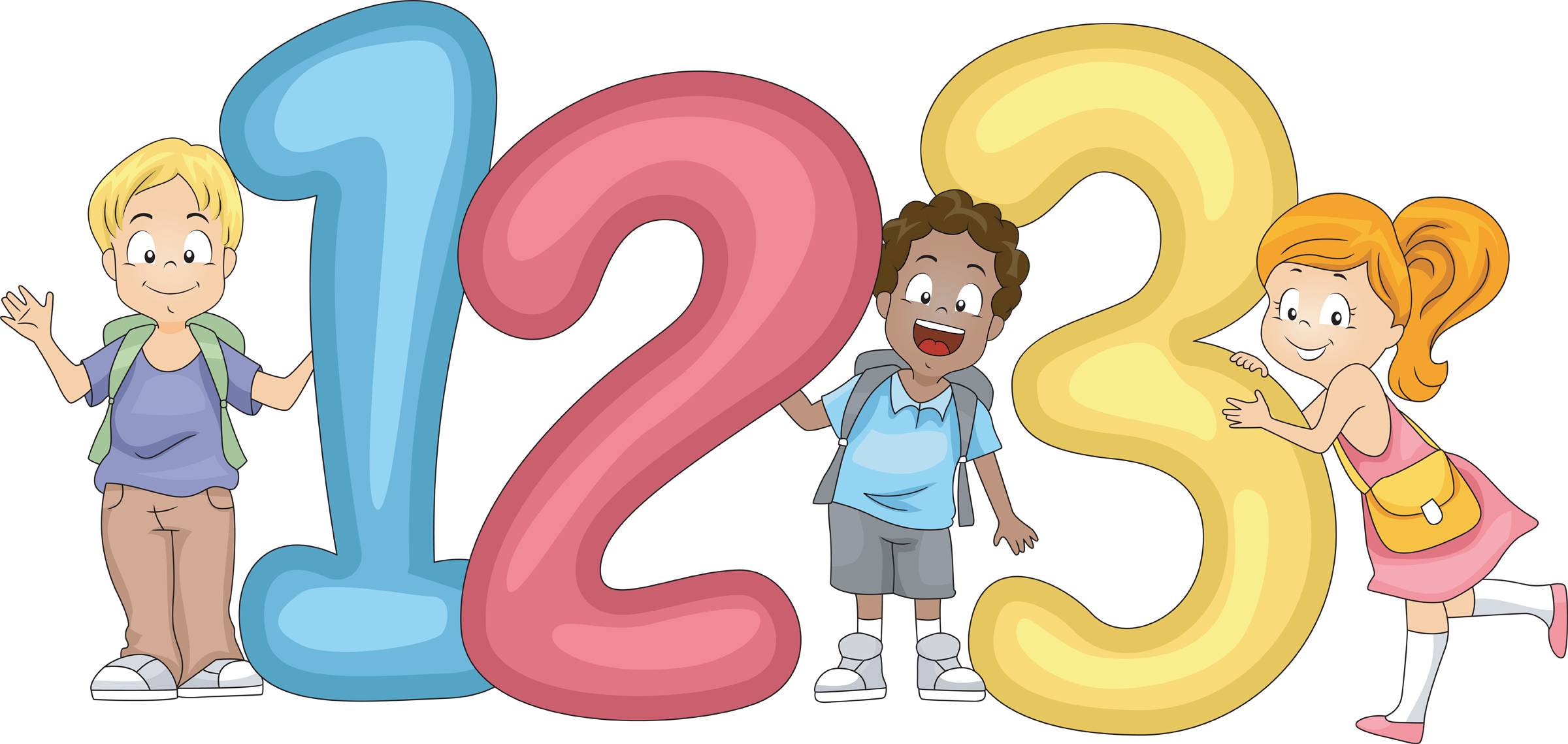 Numbers Clipart For Kids.