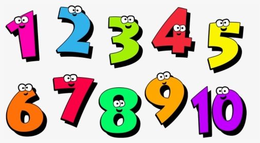 Numbers Clipart Transparent Background Frames Illustrations.